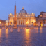 St Peter's Basilica in the evening