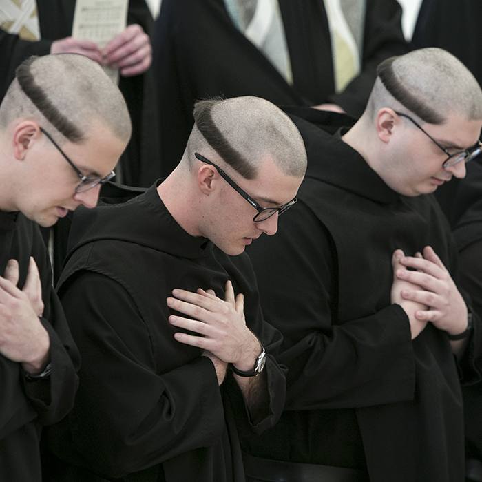 Monks make final vows at Saint Meinrad